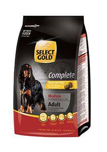 SELECT GOLD Complete Medium kutyaeledel csirke pulykával 1kg