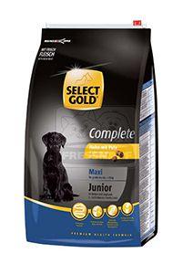 SELECT GOLD Complete Maxi junior kutyaeledel csirke pulykával 4kg