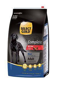 SELECT GOLD Complete Maxi kutyaeledel marha 4kg