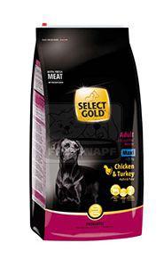 SELECT GOLD Complete Maxi kutyaeledel csirke pulykával 12kg
