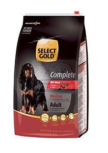 SELECT GOLD Complete Medium kutyaeledel marha 12kg