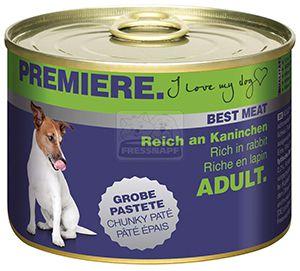 PREMIERE Best Meat kutyakonzerv nyúl 185g