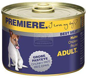 PREMIERE Best Meat kutyakonzerv csirke 185g