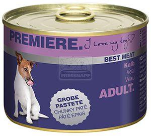 PREMIERE Best Meat kutyakonzerv borjú 185g