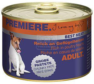 PREMIERE Best Meat kutyakonzerv baromfiszív 185g