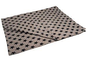 AniOne takaró csillagos szürke 130x170cm
