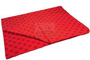 AniOne takaró csillagos piros 130x170cm