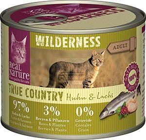 Real Nature Wilderness cicakonzerv csirke+lazac 200g
