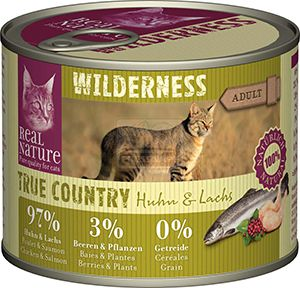 Real Nature Wilderness cicakonzerv csirke+lazac 200g