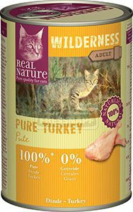 Real Nature Wilderness cicakonzerv pulyka 400g