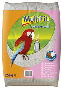 MultiFit papagáj homok 25kg