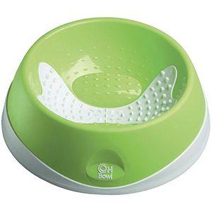 AniOne műanyag tál nyelvtisztítóval zöld 700ml