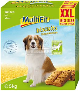 MultiFit kutyakeksz búzával 5kg