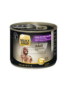 SELECT GOLD kutyakonzerv bárány+lazac+burgonya 200g