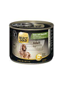SELECT GOLD kutyakonzerv kacsa+burgonya 200g