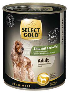 SELECT GOLD kutyakonzerv kacsa+burgonya 800g