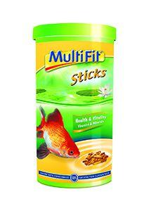 MultiFit pálcikás tavi haleledel 1l