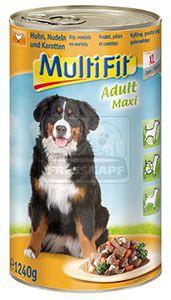 MultiFit kutyakonzerv ragu csirke+répa 1240g