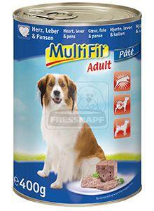MultiFit kutyakonzerv szív+máj+gyomor 400g