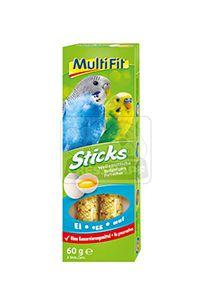 MultiFit Sticks törpepapagájoknak tojásos 2x30g