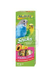 MultiFit Sticks törpepapagájoknak gyümölcsös 2x30g