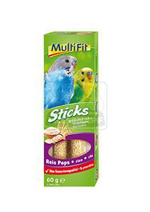 MultiFit Sticks törpepapajájoknak rizzsel 2x30g