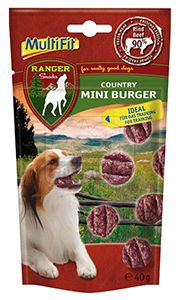 Multifit Ranger Country Mini Burger 40g