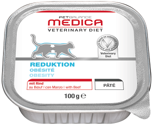 Petbalance Medica súlycsökkentő diétás cicaeledel 100g