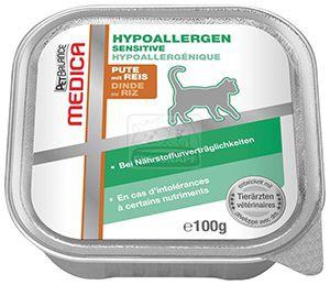 Petbalance Medica hipoallergén diétás cicaeledel pulyka, rizs 100g