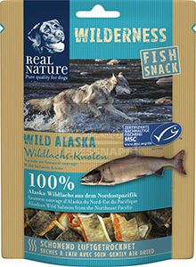 REAL NATURE Wilderness Wild Alaska kutyasnack 70g