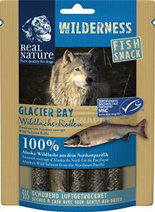 REAL NATURE Wilderness Glacier Bay kutyasnack 70g