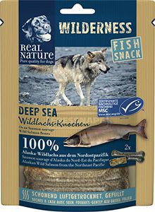 REAL NATURE Wilderness Deep Sea kutyasnack 70g