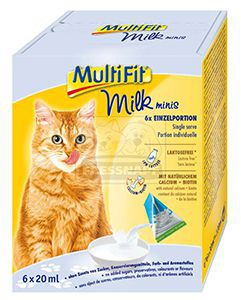 MultiFit Milky multipack cicadesszert 6x20g