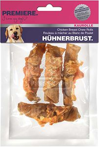 PREMIERE kutyasnack csirkemell tekercs 90g