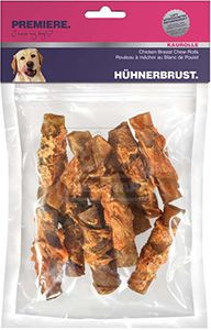 PREMIERE kutyasnack csirkemell tekercs 250g