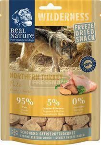 Real Nature Wilderness szárított snack kutyáknak – pulyka 50g