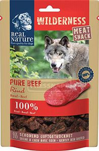 Real Nature Wilderness húsos snack kutyáknak – marha 150g