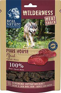 Real Nature Wilderness húsos snack kutyáknak – ló 150g