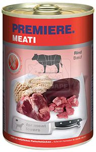 PREMIERE Meati kutyakonzerv marha 400g