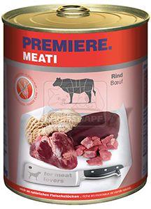 PREMIERE Meati kutyakonzerv marha 800g