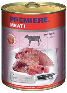 PREMIERE Meati kutyakonzerv borjú 800g