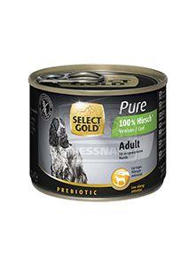 SELECT GOLD Pure kutyakonzerv szarvas 200g