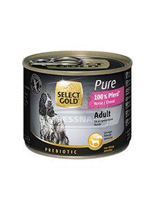 SELECT GOLD Pure kutyakonzerv ló 200g