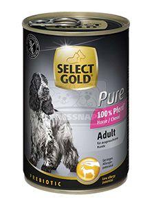 SELECT GOLD Pure kutyakonzerv ló 400g