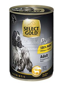 SELECT GOLD Pure kutyakonzerv csirke 400g