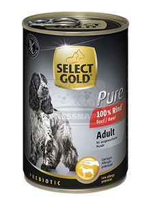 SELECT GOLD Pure kutyakonzerv marha 400g