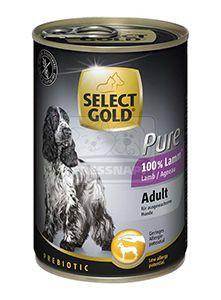 SELECT GOLD Pure kutyakonzerv bárány 400g