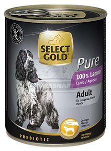 SELECT GOLD Pure kutyakonzerv bárány 800g