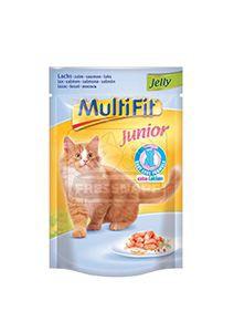 MultiFit junior cica tasakos eledel lazaczselében 100g