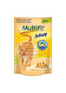MultiFit cica tasakos eledel csirkezselében 100g